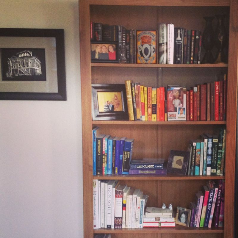 RainbowBookShelf