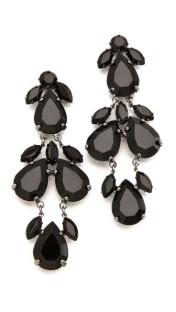 SHOPBOP, Juliet & Company, Plume Noir Earrings, $50