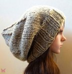 Etsy, Hand knit Beanie, $38