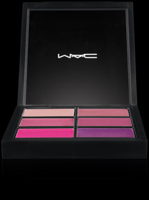 MAC Pro Lip Palette with 6 Preferred Pinks. This is a great way to try new shades and make your own by mixing colors!